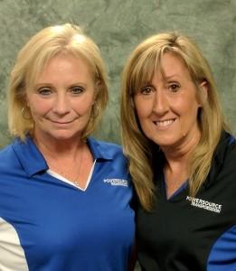 Lisa Premil and Barb Bakos