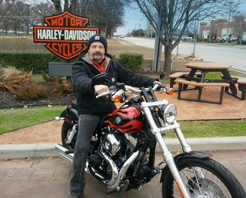 Aaron McMorris, Harley