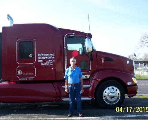 Powersource driver owner-operator Scott Coyner