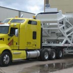Power-only trucking towing industrial machinery