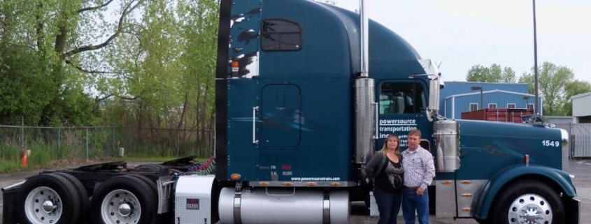 Powersource featured driver: Jerry and Dianna Camden