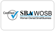 SBA WOSB Certified Woman Owned Small Business