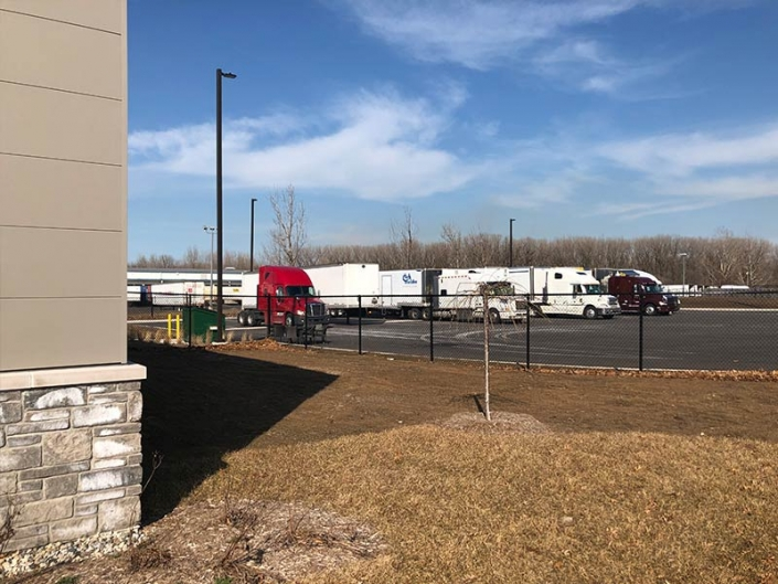 Powersource Transportation, Secure Truck/Driver's Lot