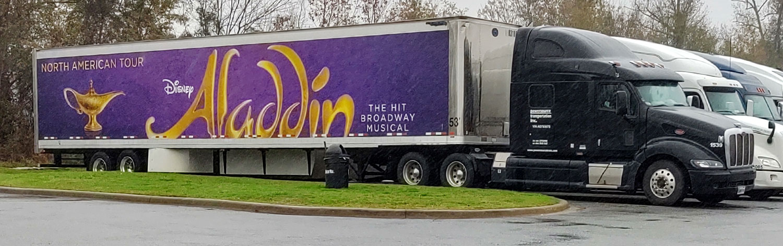 Dark Cab and Aladdin Trailer