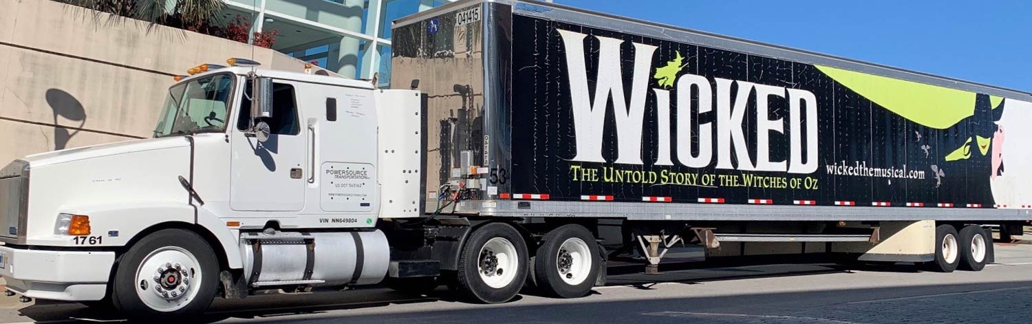White Cab with Wicked Trailer