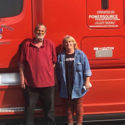 James and Terry - Featured Driver For July 2021